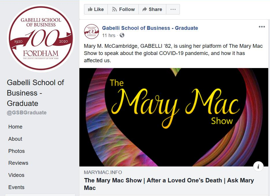 Praise for The Mary Mac Show